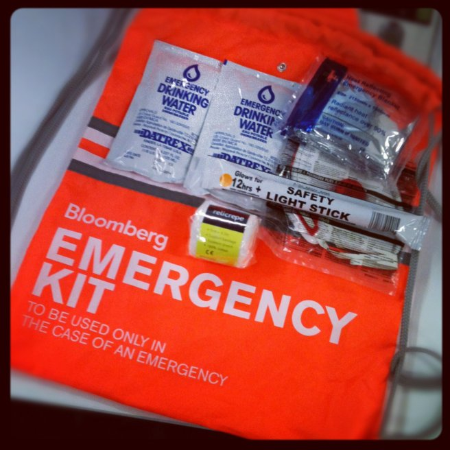 Bloomberg Emergency Kit