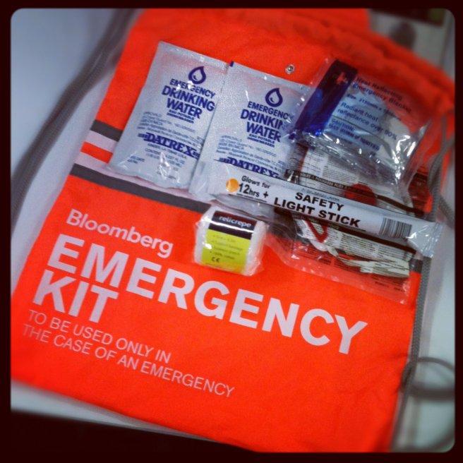 Bloomberg Emergency Kit
