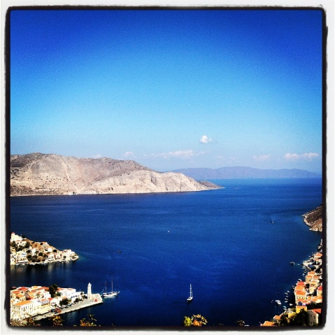 A View of Symi