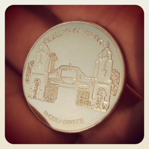 Kallithea Springs - Hellenic Heritage coin