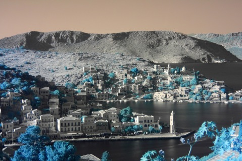 Symi by infrared