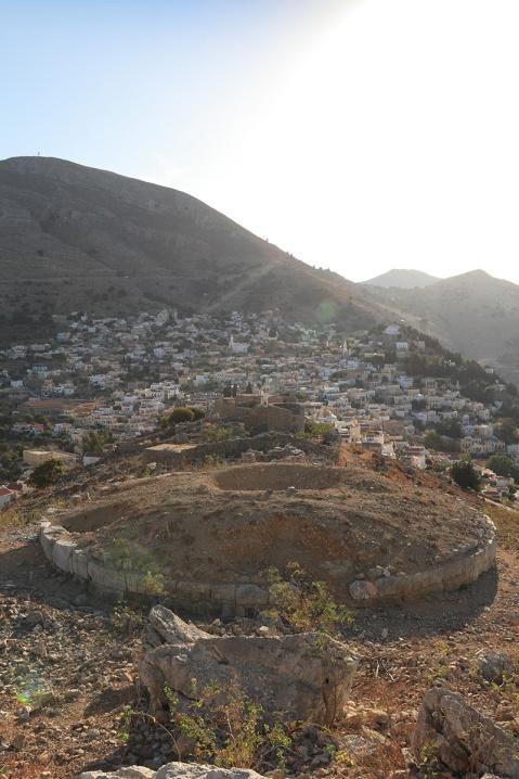 Symi Stone Circle and Windmills