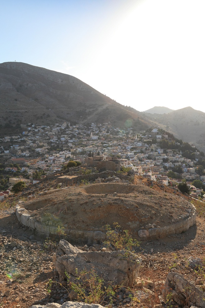 Symi Stone Circle and Windmills
