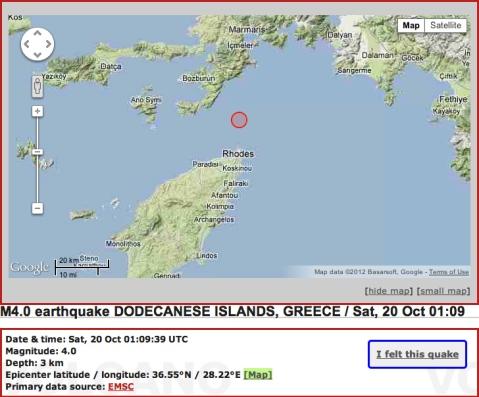 Rhodes quake