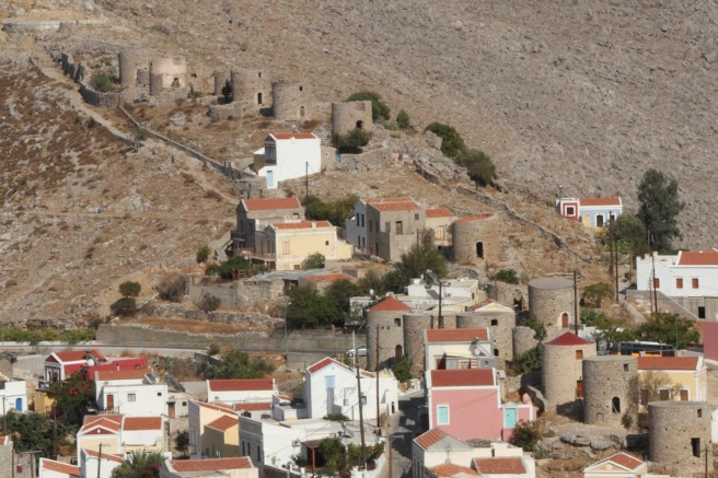 The Ruins of the Symi Windmills
