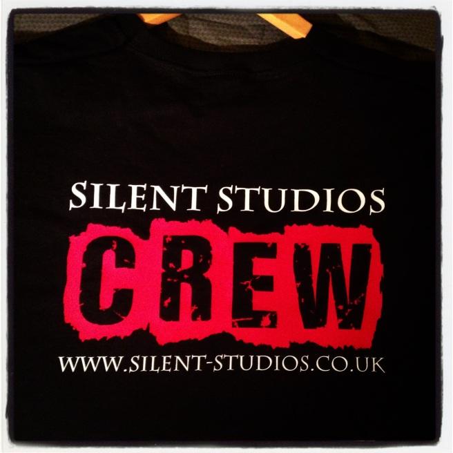 Silent Studios crew t shirt