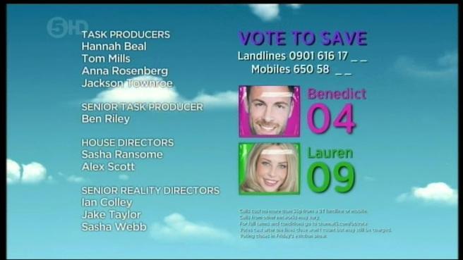 Big Brother Credit Summer 2012