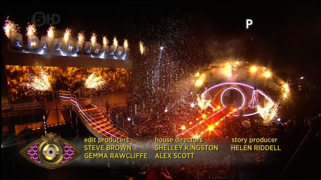 Celebrity Big Brother 2014: Credit