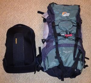 Vietnam trip bags