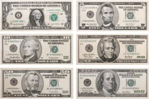 US dollar denominations